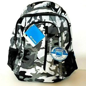 NEW Columbia Trails Edge Camouflage Backpack Lapto